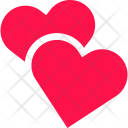 Two Hearts Couple Icon