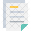 Two Documents Files Icon