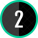 Two Number Count Icon
