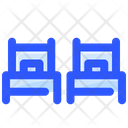 Two Beds Room Icon