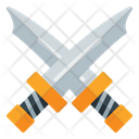 Two Blades Sword Two Icon
