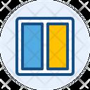 Two Coloumn Layout Web Layout Icon
