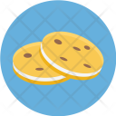 Two Cookies Icon