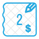 Two Dollar Bill Icon