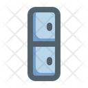 Furniture Color Outline Locker Icon