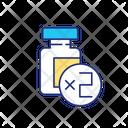 Two Dose Vaccination Icon