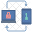 Two Factor Verification Icon