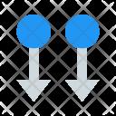 Two Finger Swipe Icon