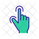 Two Fingers Touch Icon