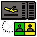 Checkin Airport Flight Icon