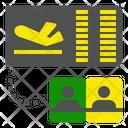 Checkin Airport Flight Icon