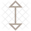 Two Head Arrow Icon