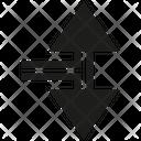Junction Arrow Way Icon