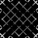 Two Left Arrow Icon