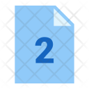 Two Pages Icon