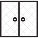 Two Section Cabinet Icon