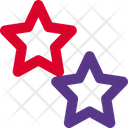 Two Star One Star Star Icon