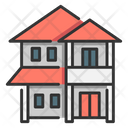 Two story house Icon