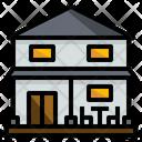 Two Storey House Icon