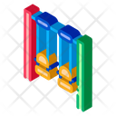 Two Swings Children Icon