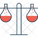 Two Test Tubes Icon