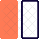 Two Vertical Grid Icon