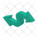 Two Way Arrow Icon