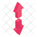 Two Way Arrows Icon