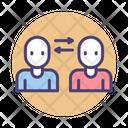 Two Way Communication Communication Chatting Icon
