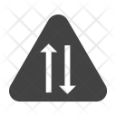 Two-way lane Icon