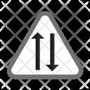 Two way lane Icon