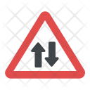 Two-way Traffic Icon