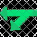 Symbols Arrows Sign Leftward Arrows Icon