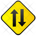 Ways Oncoming Traffic Icon