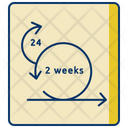 Two Week Sprint Icon