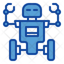 Two Wheel Robot Icon