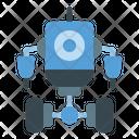 Two Wheel Robot Icon