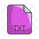 Txt Document File Icon