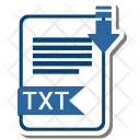 Txt extension Icon
