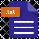 Txt File Sheet Icon