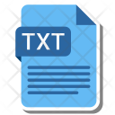 Txt File Format Icon