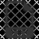 Txt Document File Icon