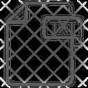 Txt File Document File Icon