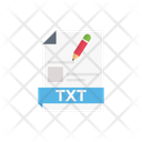 Text Edit Create Icon