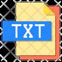 Txt File File Type Icon