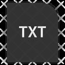 Txt File Extension Icon