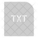 Txt Extension File Icon