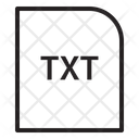 Txt Extension File Icon