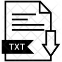Txt File Format Icon
