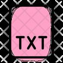 Txt File File Txt Icon